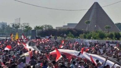 صورة هزيمة لحملة التضليل التي ينظمها الإخوان في مصر