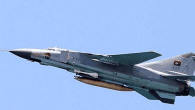 صورة سلاح الجو الليبي يدمر أكبر مستودع لتخزين الصواريح والذخائر بمدينة مصراتة