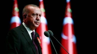 صورة رئيس النظام التركي يعلن مقتل ثلاثة جنود من الجيش التركي في إدلب