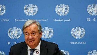 صورة غوتيريش يعلن التوصل إلى اتفاق لتشكيل لجنة دستورية السورية