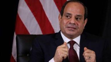 صورة الرئيس المصري: المعركة ضد الإرهاب مستمرة ولا يمكن القضاء عليه دون إرادة شعبية