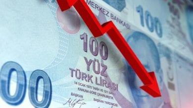 صورة تدهور جديد في الإقتصاد التركي