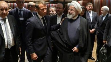 """صورة ماكرون يدعو أمريكا وإيران للعودة إلى طاولة المفاوضات تجنّباً لـ""""مخاطر اشتعال"""" منطقة الخليج"""