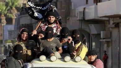 صورة اعتقال الداعشي أنور حدوشي في سوريا المشتبه بتورطه في اعتداءات باريس وبروكسل