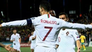 صورة كريستيانو رونالدو يقود منتخب بلاده البرتغال للفوز الكبير