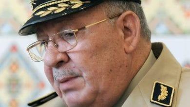 صورة رئيس أركان الجيش الجزائري: الانتخابات الرئاسية فرصة لإرساء الثقة في البلاد