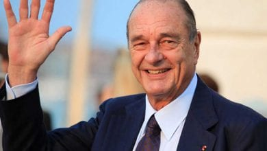 Photo de Décès de l'ancien président Français Jacques Chirac