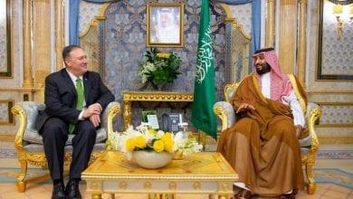 """صورة بومبيو: الهجوم الذي استهدف منشأتين نفطيتين في السعودية السبت هو """"عمل حربي"""""""