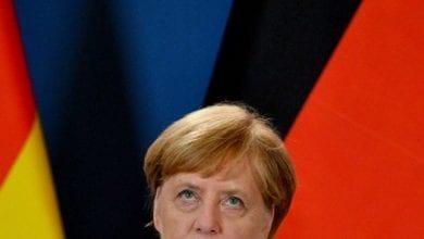 Photo de Trente ans après la chute du Mur de Berlin: L'extrême droite face à la coalition d'Angela Merkel