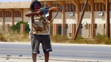 """صورة باشراف تركيا …. التحاق دفعة جديدة من """"الإرهابيين""""بمحاور القتال في العاصمة طرابلس"""