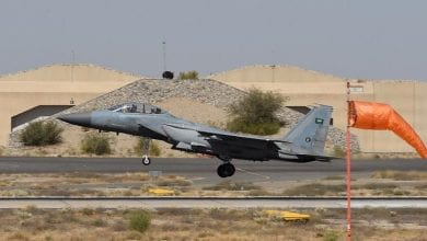 Photo of Arab Coalition targets Houthi military site in Yemen's Dhamar