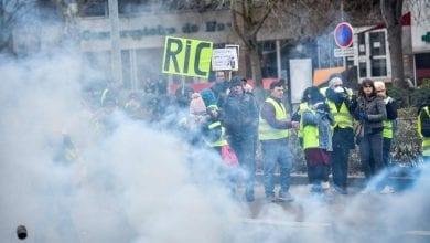Photo de France: Des heurts entre policiers et manifestants la mouvement des «gilets jaunes»