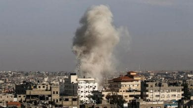 Photo of Israel strikes in Gaza after rocket attack