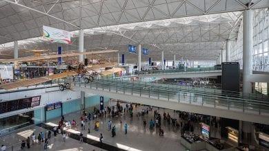 Photo de Hong Kong: fermeture des  routières avec l'aéroport