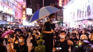 Photo de Hong Kong: les manifestants ciblent l'aéroport, les policiers étaient déployés en nombre