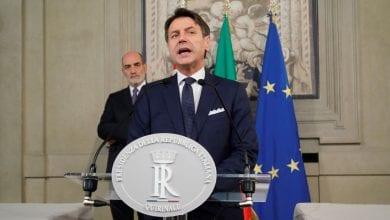 Photo de Giuseppe Conte: formation d'un nouveau gouvernement, porté par les sociaux-démocrates et le mouvement Cinq Étoiles