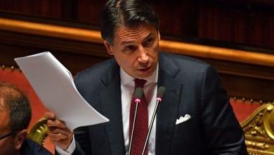 """Photo de le Premier ministre Giuseppe Conte a promis dans une """"nouvelle ère réformatrice"""" en Italie  pour en faire """"un pays meilleur"""""""