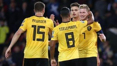 Photo de Qualifs Euro 2020: Kevin De Bruyne était le grand artisan de la victoire de la Belgique avec 3 passes décisives et un but