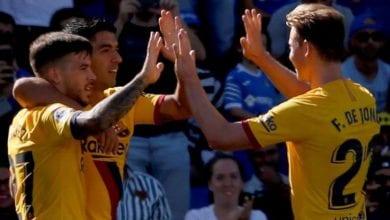 Photo de Le FC Barcelone s'est imposé 2-0 à Getafe