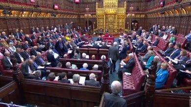Photo de La Chambre des Lords a adopté  la proposition de loi  un report du Brexit