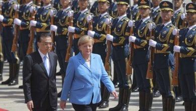 Photo de Angela Merkel appelle au respect des droits et libertés lors de sa visite en Chine
