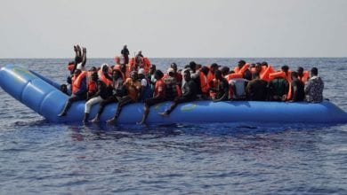 Photo of Ocean Viking with 182 Migrants Waits to Dock in Europe