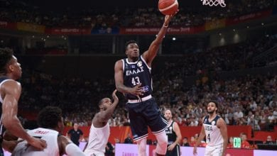 Photo of MVP Antetokounmpo and Greece fall to US at World Cup