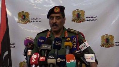 صورة المسماري: الشرط الأول لوقف إطلاق النار هو خروجتركيابشكل كامل من ليبيا