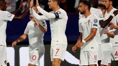 Photo de Qualifs Euro 2020: Cristiano Ronaldo avec le Portugal marque  quatre buts