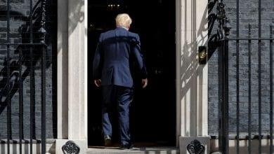 Photo de Boris Johnson: affirme la position Royaume-Uni de quitter l'Union européenne et de ne pas participer à  ses réunions