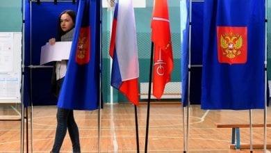 Photo de Élections en Russie, faible taux de participation