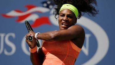 Photo de US Open: Serena Willliams se qualifie pour les demi-finales après avoir battu Qiang Wang