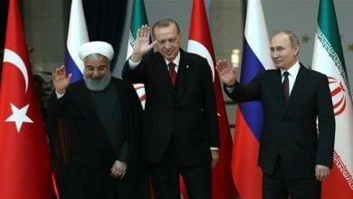 Photo de Sommet trilatéral russo-turc-iranien sur la Syrie à Ankara