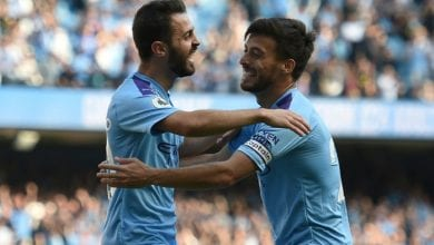 Photo of Man City hit eight in Watford demolition, Spurs rocked by Leicester