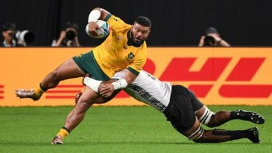 Photo of Wallabies survive Fiji scare to win Rugby World Cup opener