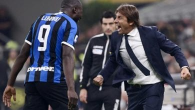 Photo of Lukaku helps keep perfect Inter top with derby triumph