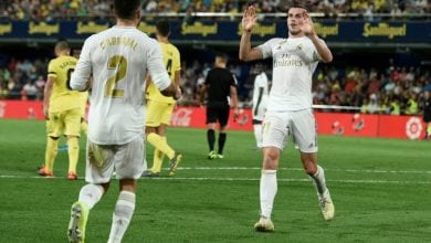 Photo of Bale scores twice and sent off as Madrid held by Villarreal