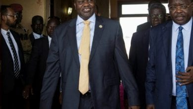 Photo of South Sudan rebel leader in Juba in bid to salvage peace deal