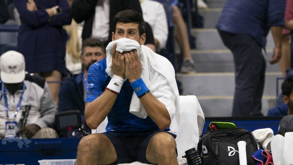 Tennis - US Open. Wawrinka pousse Djokovic à l'abandon