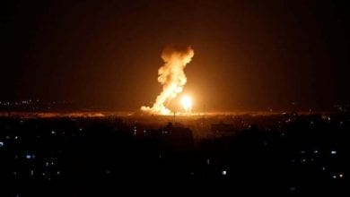 Photo of Israeli occupation warplanes strikes Hamas targets in gaza