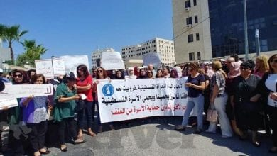 Photo of Palestinian demand legal protection after 'honour' killing of Israa Gharib