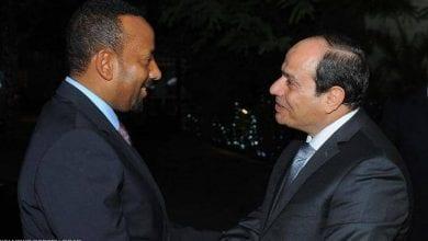 الرئيسان المصري والأثيوبي
