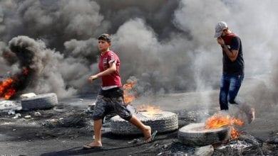 صورة أربعة قتلى في مدينة البصرة العراقية خلال احتجاجات اليوم