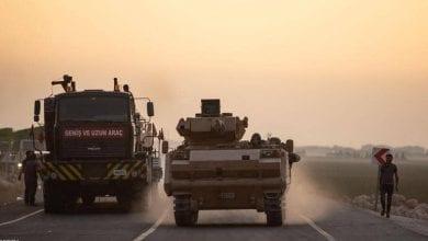 صورة انفجار مركبة مفخخة شمال شرقي سوريا يقتل ثلاثة جنود أتراك