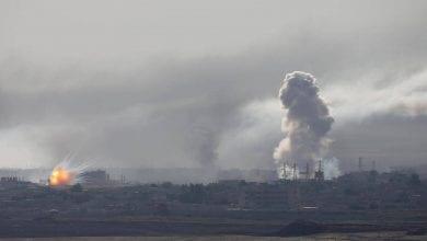 صورة استمرار العدوان التركي على سوريا رغم موجة الإدانات العالمية