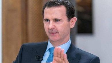 صورة الأسد يتعهد بمواجهة العدوان التركي على سوريا