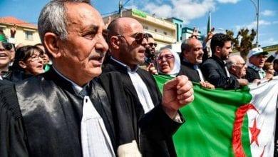 """صورة القضاة يبدأون إضرابا """"غير محدود"""" للمطالبة باستقلالية القضاء في الجزائر"""