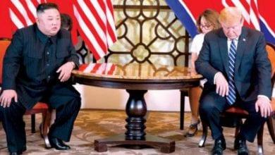 صورة إنهيار المحادثات النووية بين أميركا وكوريا الشمالية