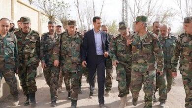 صورة مواجهة محتملة بين الجيش السوري وقوات النظام التركي