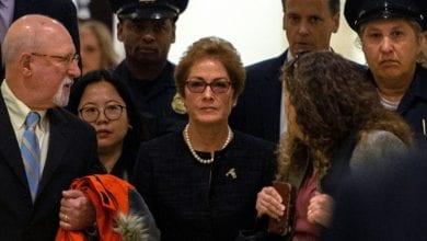 صورة سفيرة واشنطن في أوكرانيا تتهم ترماب بعزلها بسبب مزاعم كاذبة